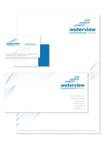 Waterview Stationery Collatoral