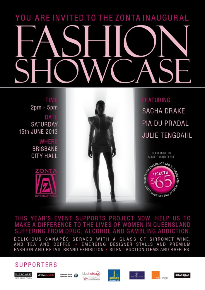 Zonta Fashion Showcase_Invitation